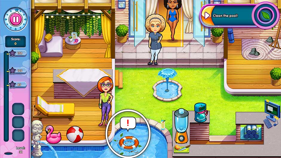 Sally's Salon - Kiss & Make-Up - Level 31