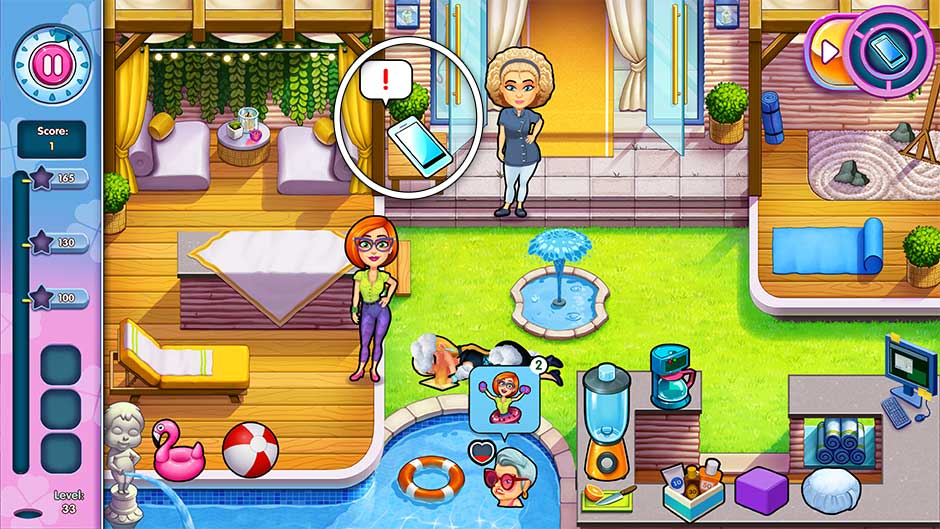 Sally's Salon - Kiss & Make-Up - Level 33