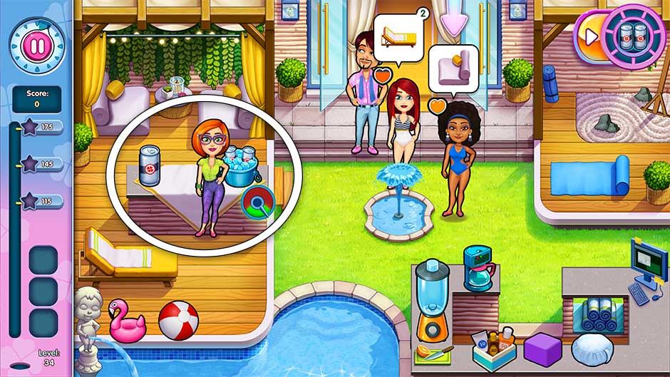 Sally's Salon - Kiss & Make-Up - Level 34