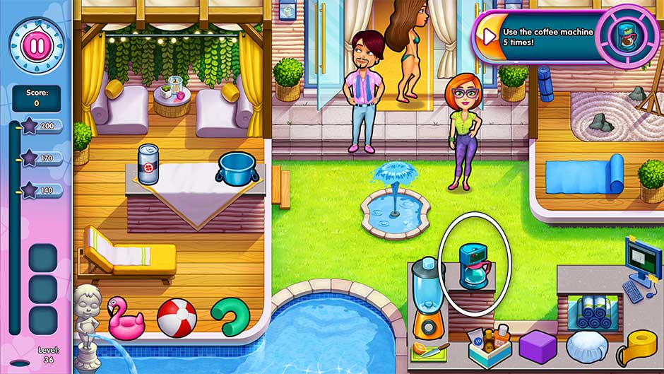 Sally's Salon - Kiss & Make-Up - Level 36
