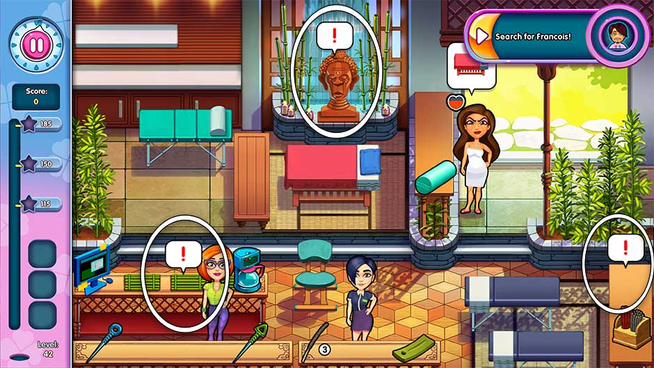 Sally's Salon - Kiss & Make-Up - Level 42