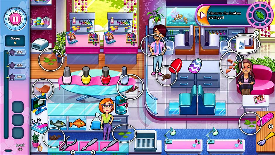 Sally's Salon - Kiss & Make-Up - Level 56