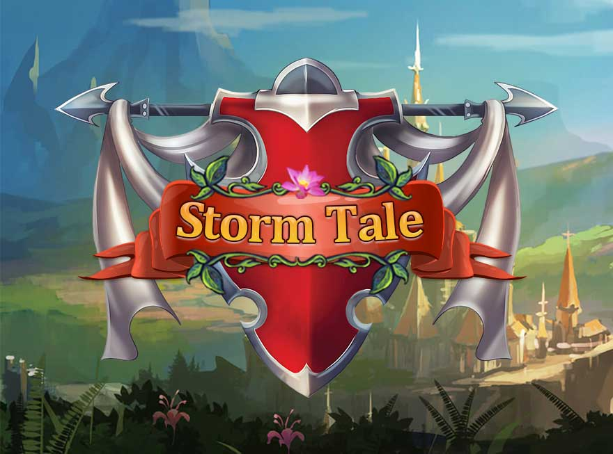 Go Medieval with Storm Tale at GameHouse