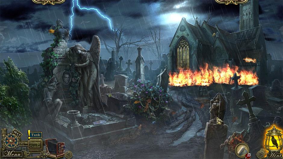 Dark Tales - Edgar Allan Poe's Metzengerstein Collector's Edition - screenshot_01 - GameHouse
