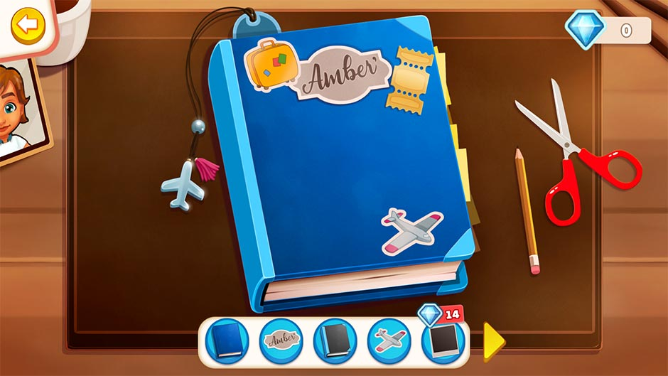 Amber's Airline - High Hopes Collector's Edition - Amber's Diary