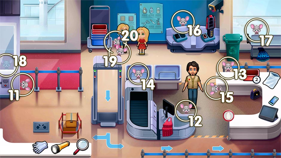 Amber's Airline - High Hopes Collector's Edition - Chapter 2 Mouse Locations - Levels 11 - 20