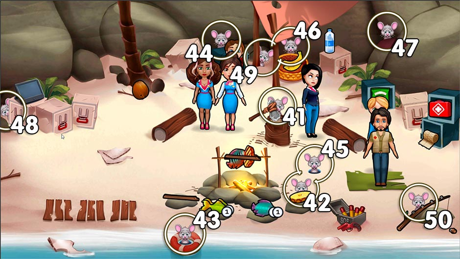 Amber's Airline - High Hopes Collector's Edition - Chapter 5 Mouse Locations - Levels 41 - 50