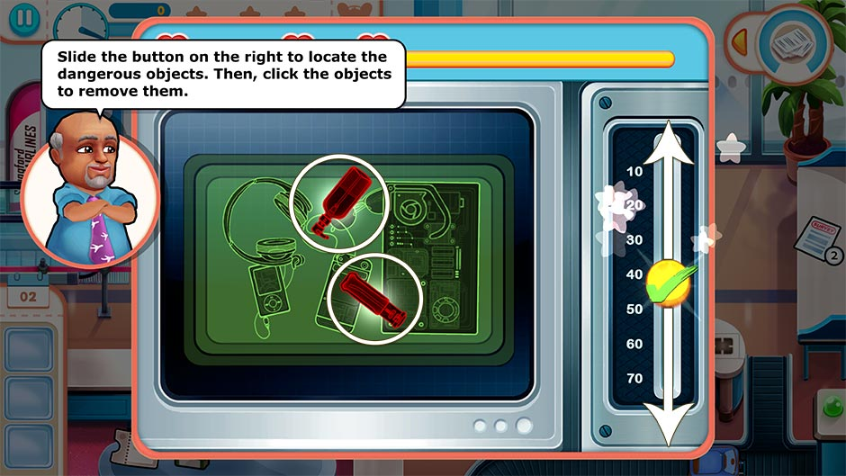 Amber's Airline - High Hopes Collector's Edition - X-ray Minigame