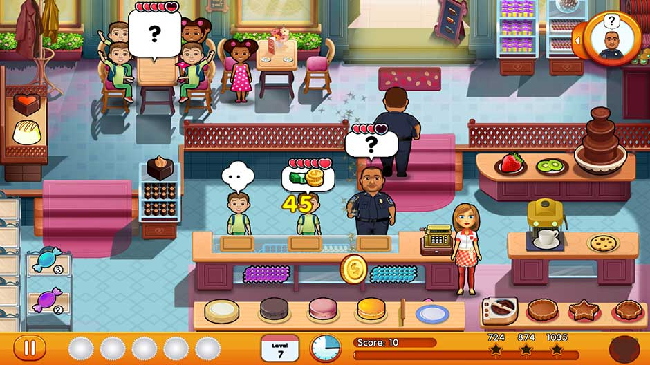 Julie's Sweets - GameHouse - screenshot_03
