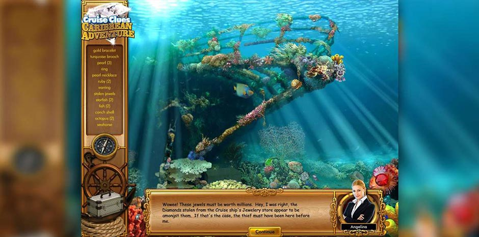Cruise Clues - Caribbean Adventure - GameHouse