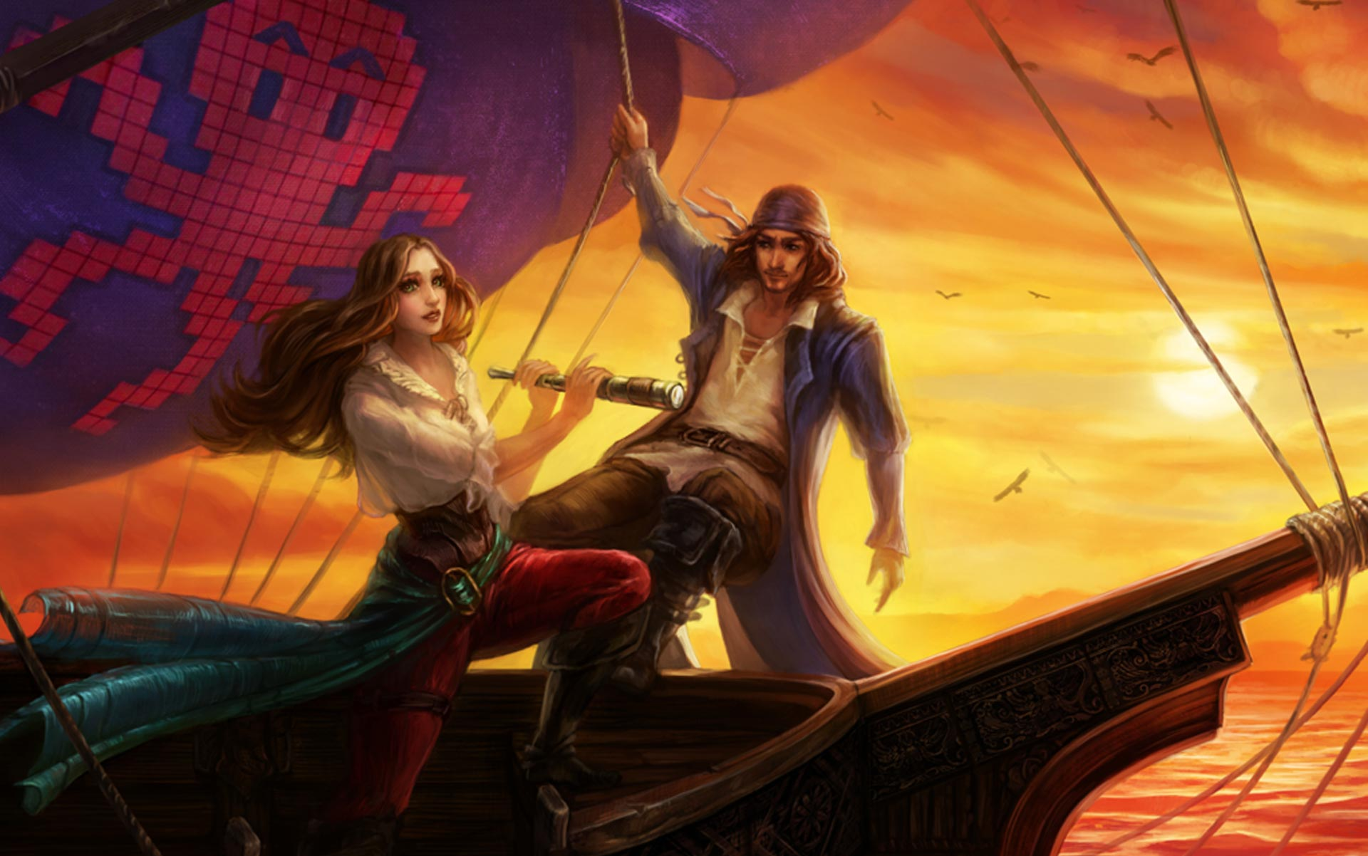 GameHouse Talk Like A Pirate Day Feature - Griddlers Legend of the Pirates