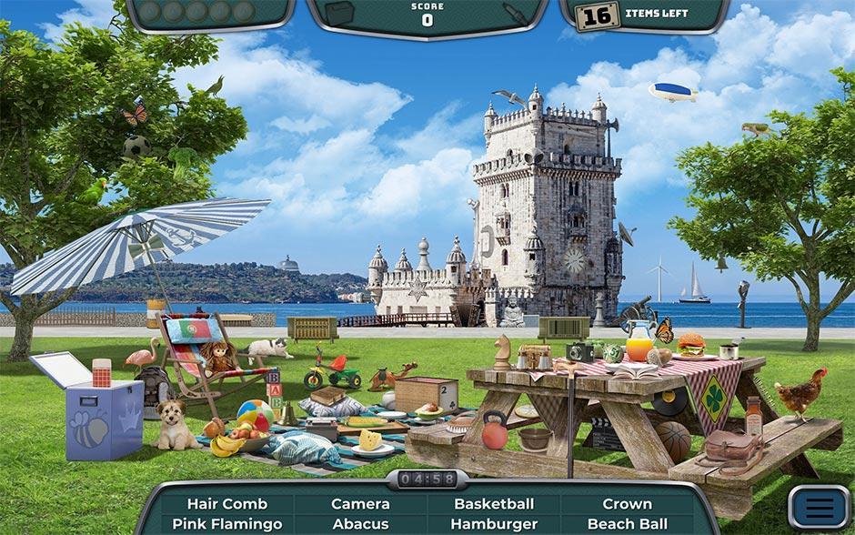 Road Trip Europe - A Classic Hidden Object Game - GameHouse - screenshot_01