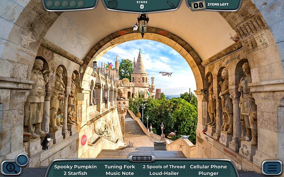 Road Trip Europe - A Classic Hidden Object Game - GameHouse - screenshot_04