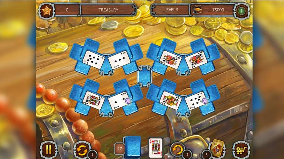 Solitaire Legend of the Pirates 2 - GameHouse Talk Like A Pirate Day