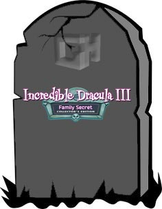 Incredible Dracula III - Family Secret Platinum Edition - GameHouse Halloween