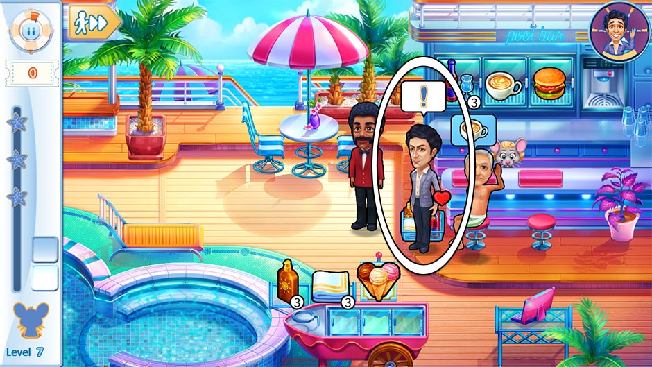 The Love Boat - Second Chances Collector's Edition - Level 7