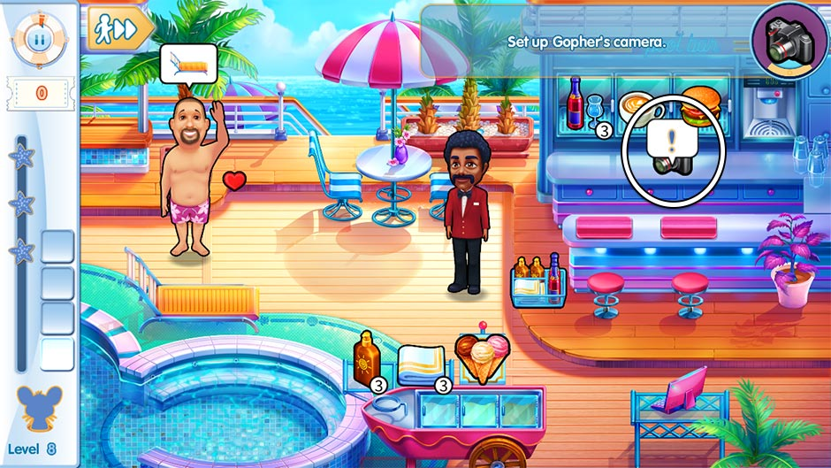 The Love Boat - Second Chances Collector's Edition - Level 8