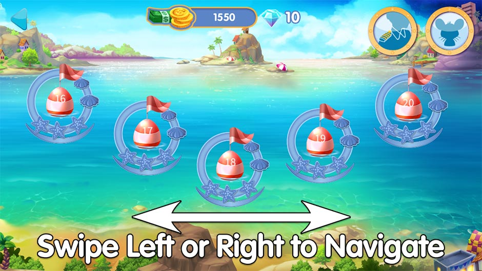 The Love Boat - Second Chances - How to Navigate the Level Select Map
