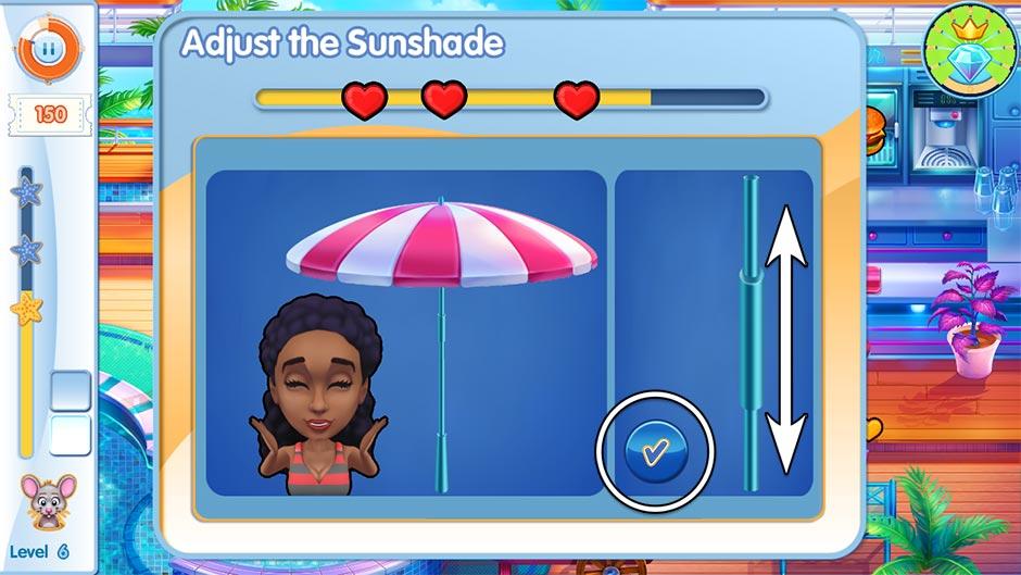The Love Boat - Second Chances Minigame - Adjust the Umbrella