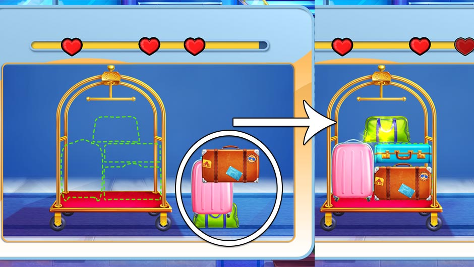 The Love Boat - Second Chances Minigame - Load the Luggage