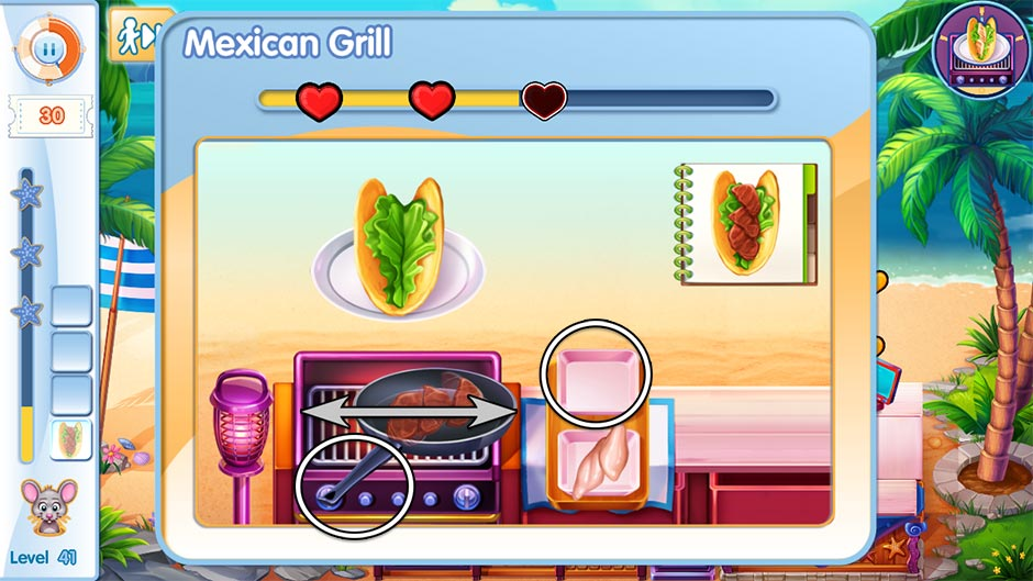 The Love Boat - Second Chances Minigame - Mexican Grill