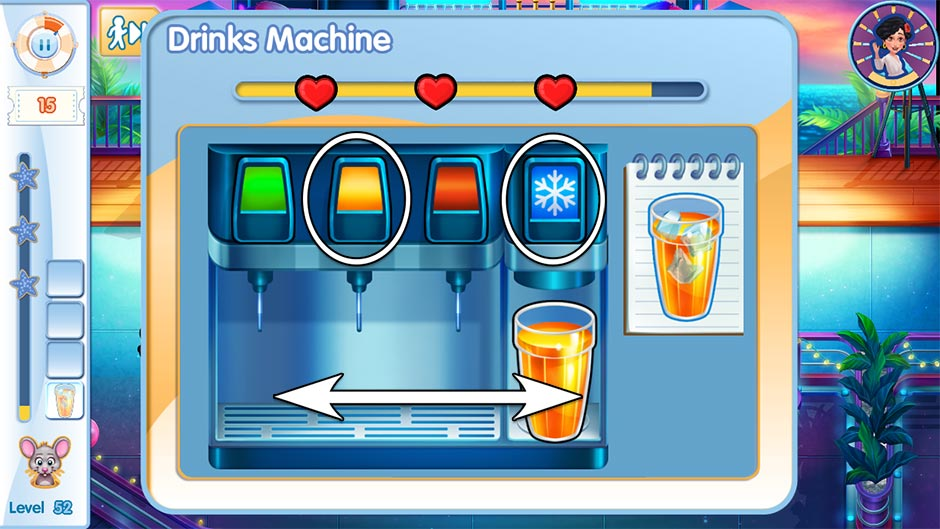 The Love Boat - Second Chances Minigame - Pour Drinks