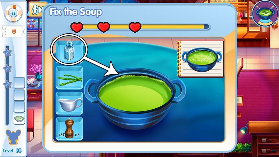 The Love Boat - Second Chances Minigame - Prepare the Soup