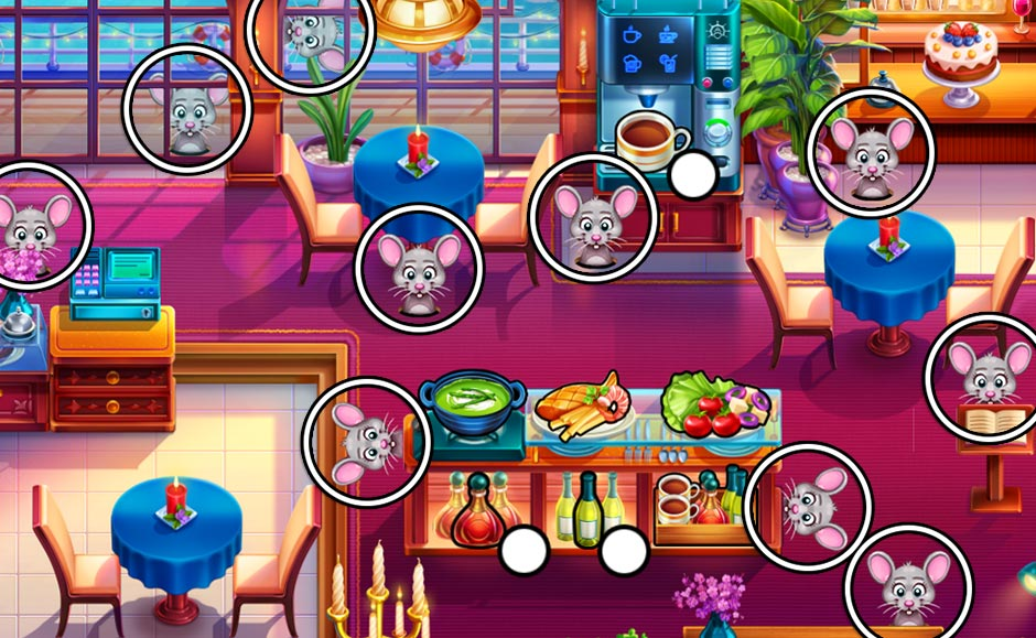 The Love Boat - Second Chances Mouse Locations - Restaurant