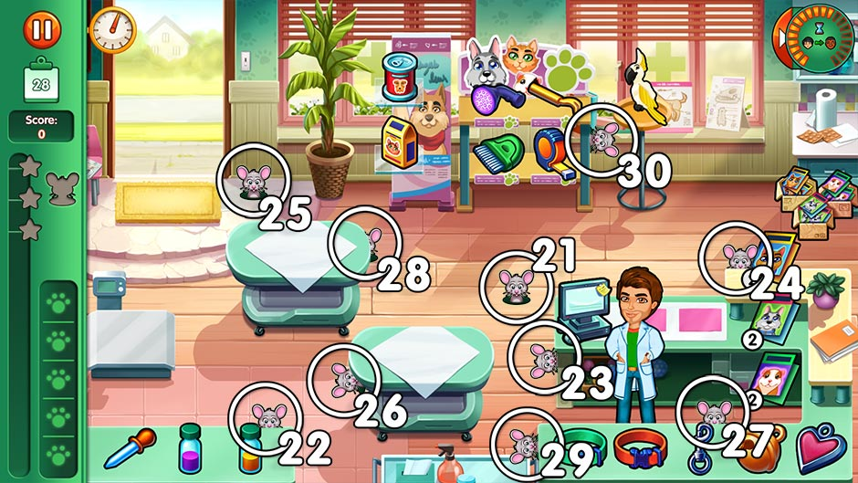 Dr. Cares - Family Practice Collector's Edition - Chapter 3 Mouse Locations