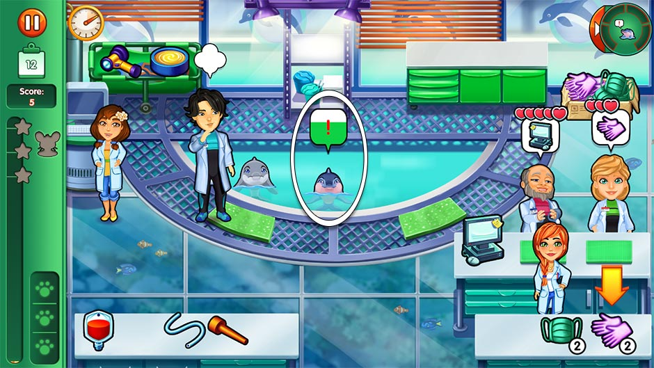 Dr. Cares - Family Practice Collector's Edition - Level 12