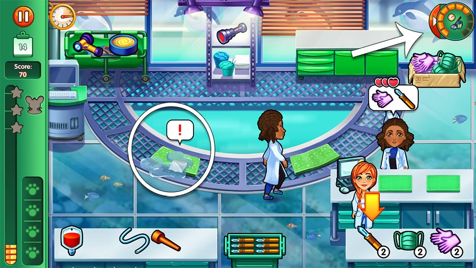 Dr. Cares - Family Practice Collector's Edition - Level 14