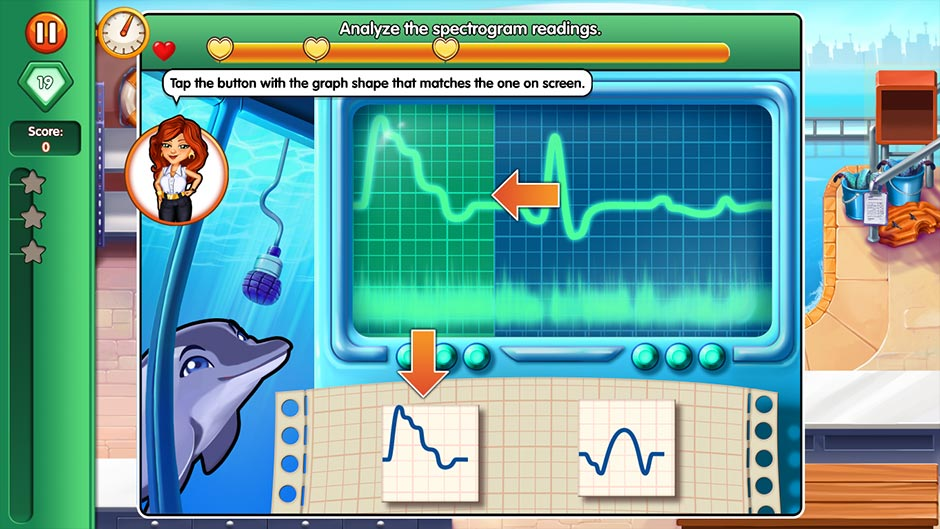 Dr. Cares - Family Practice Collector's Edition - Minigame - Analyze the Spectrogram