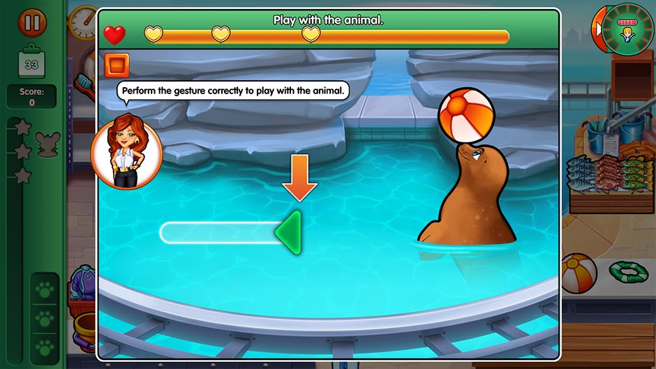 Dr. Cares - Family Practice Collector's Edition - Minigame - Play with the Animal
