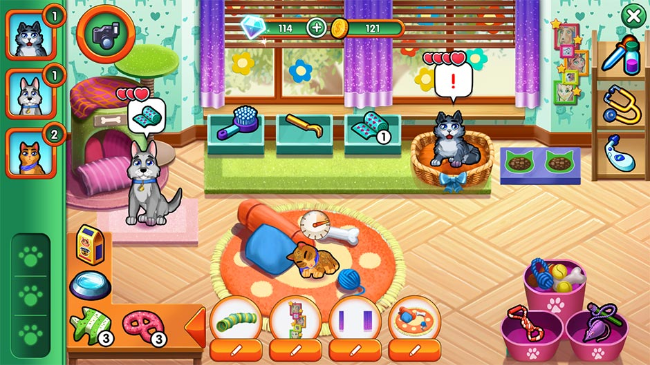 Dr. Cares - Family Practice Collector's Edition - Pet Room