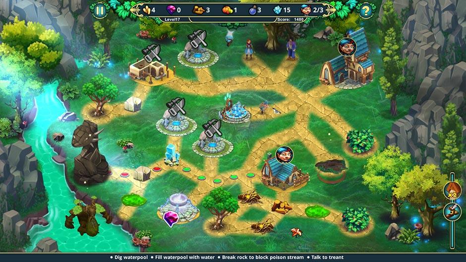 Elven Legend 6 - The Treacherous Trick Collector's Edition - GameHouse_screenshot-02