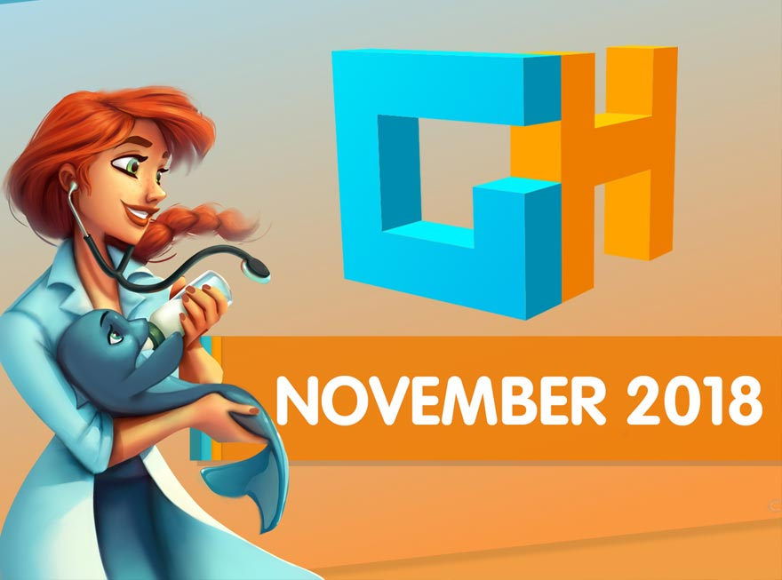 Discover New Exclusives in the GameHouse November Monthly Recap!