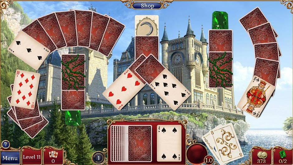 Jewel Match Solitaire 2 Collector's Edition - GameHouse