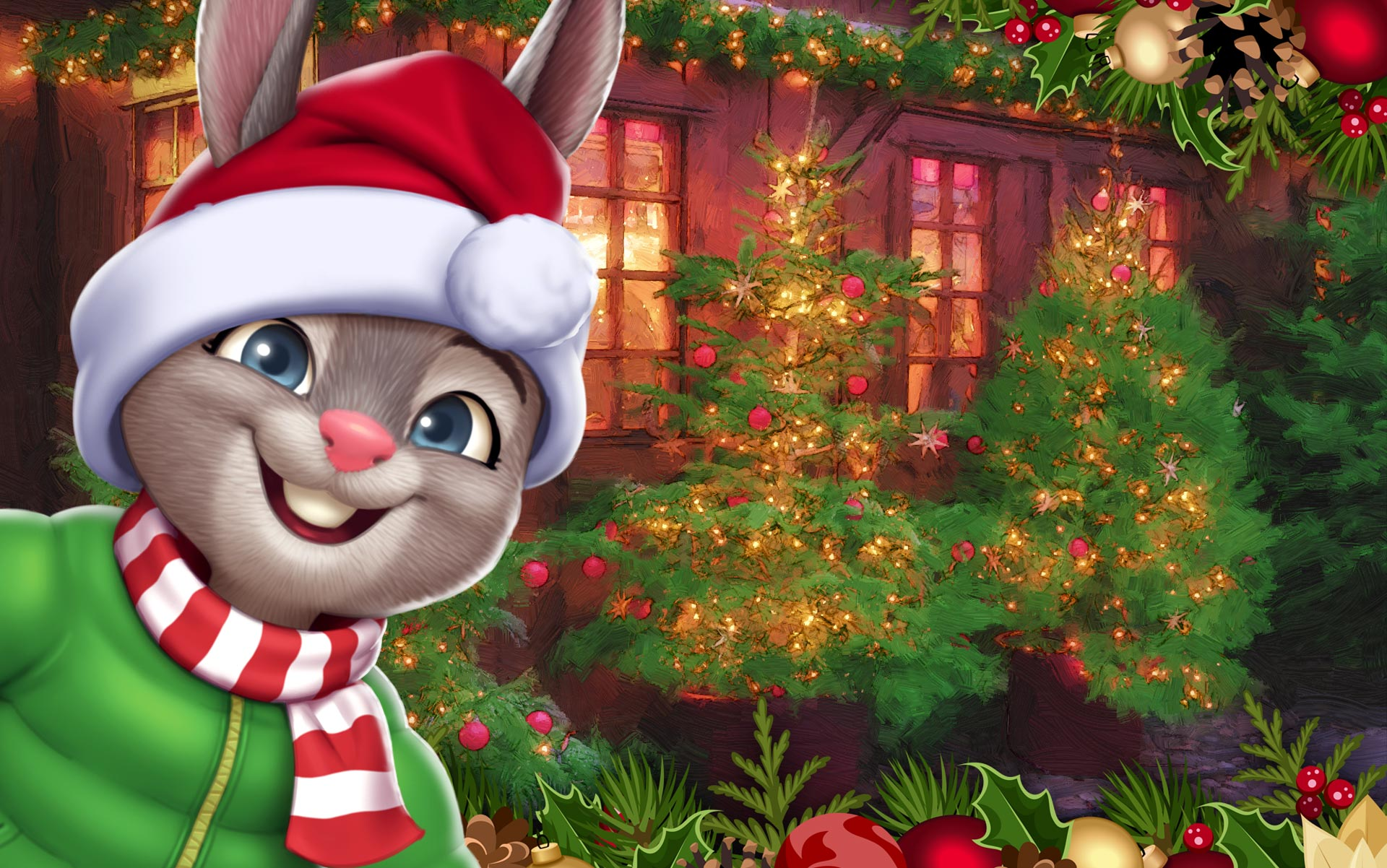 GameHouse Christmas Feature 2018 - Shopping Clutter 2 - Christmas Square