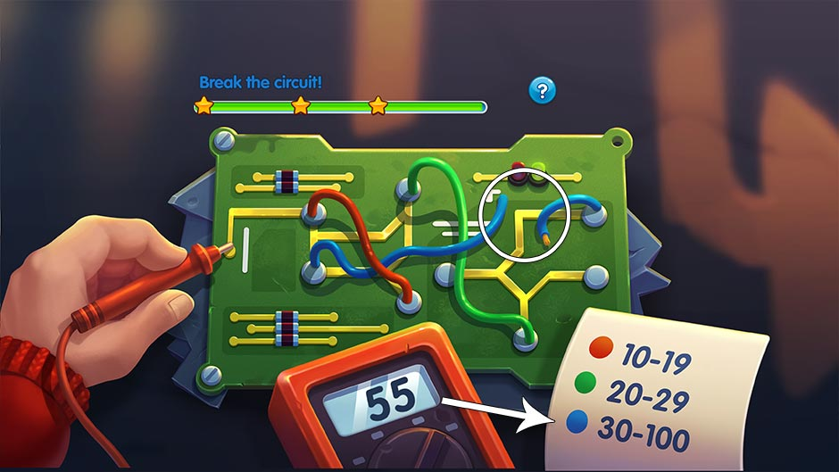 Parker & Lane - Twisted Minds Collector's Edition - Circuit Breaker Minigame