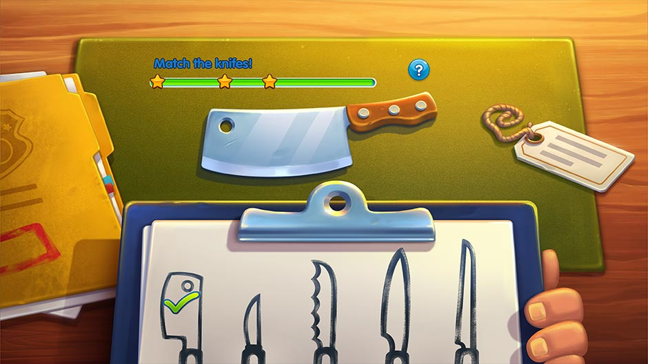 Parker & Lane - Twisted Minds Collector's Edition - Knives Minigame
