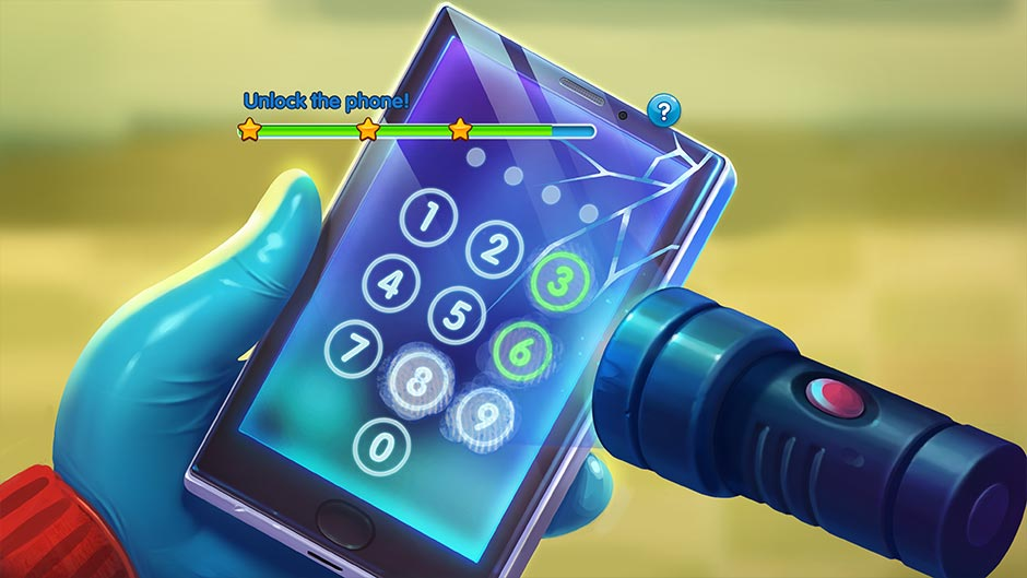 Parker & Lane - Twisted Minds Collector's Edition - Unlock Phone Minigame