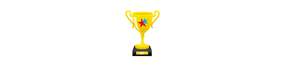 All About Casual Game Best of the Year Trophy