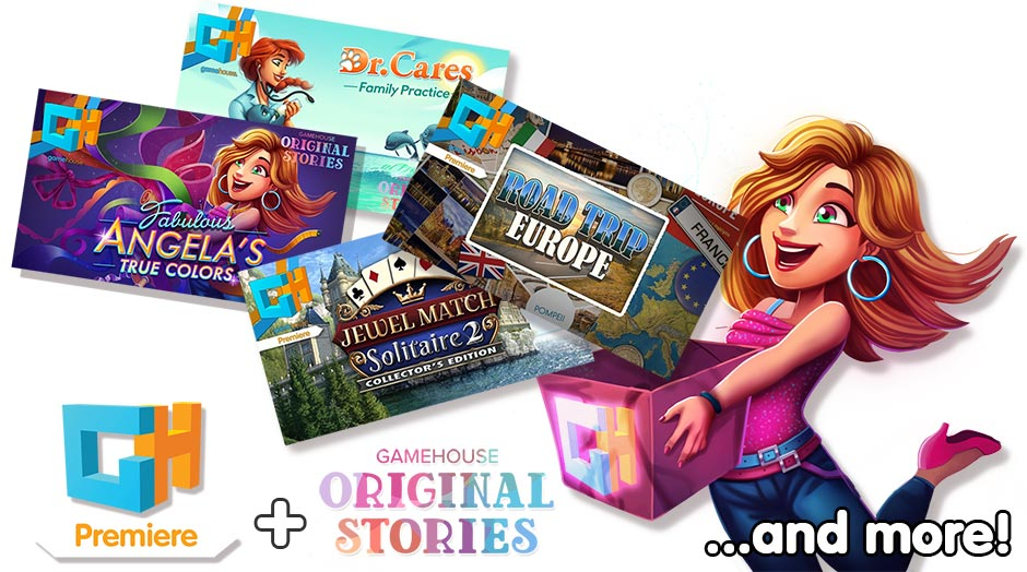 GameHouse Premiere and GameHouse Original Story Exclusives - GameHouse