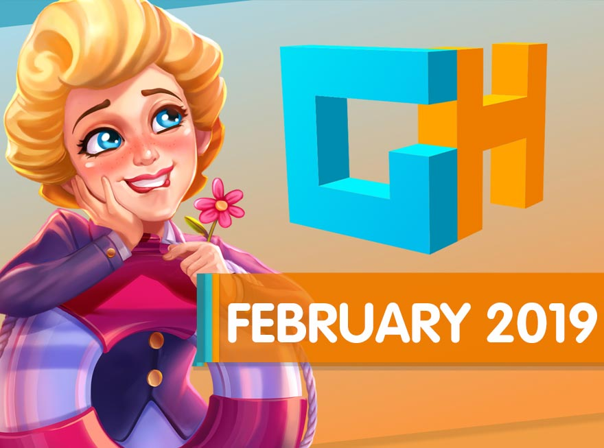 GameHouse Monthly Recap – Fall in Love with February's Favorite Games!