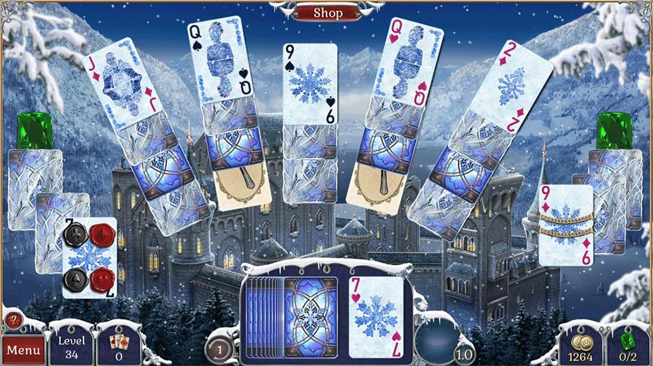 Jewel Match Solitaire Winterscapes - GameHouse