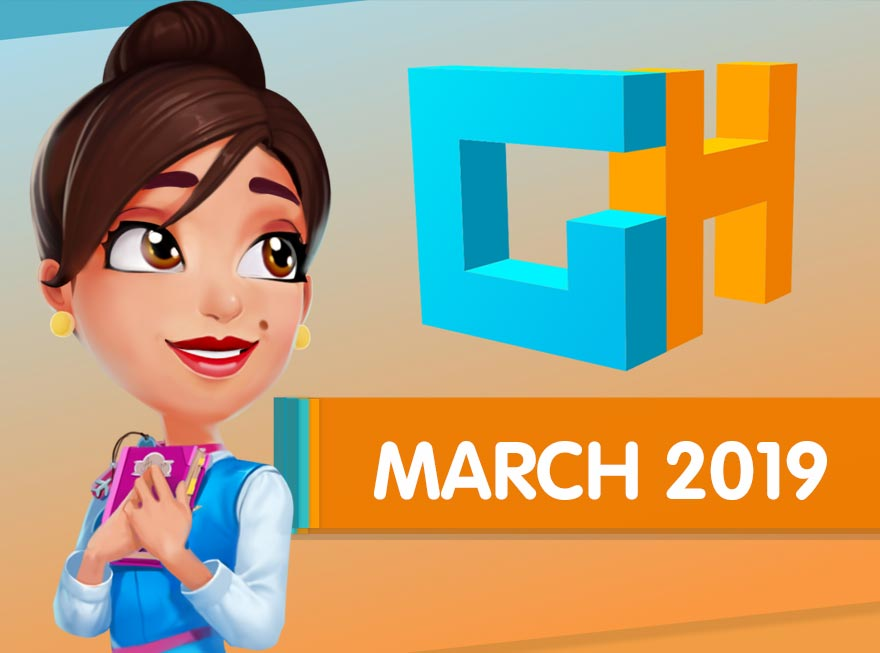 GameHouse Monthly Recap – March into spring with these 8 games!