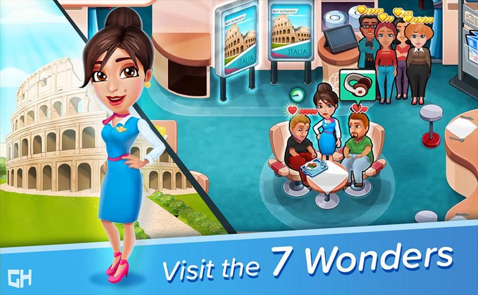 Amber's Airline - 7 Wonders Collector's Edition - GameHouse