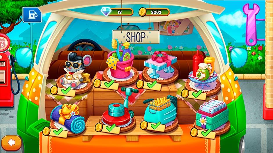 Delicious - Emily's Road Trip - Shop Upgrades