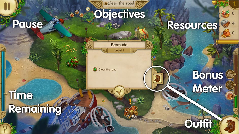 Alicia Quatermain 4 - Da Vinci and the Time Machine Collector's Edition - How to Play