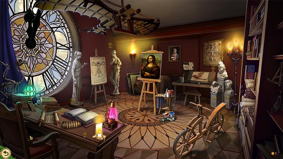 Alicia Quatermain 4 - Da Vinci and the Time Machine Collector's Edition - Museum